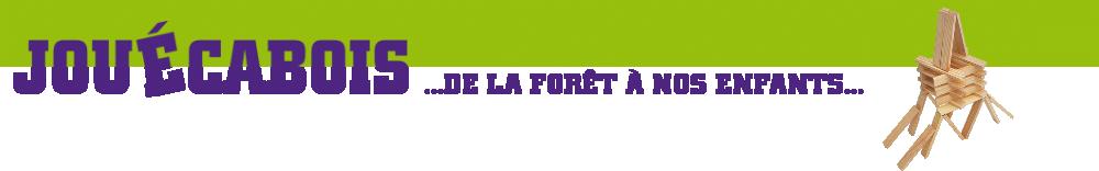 JOUÉCABOIS : Jeux de construction & éveil en bois made in France